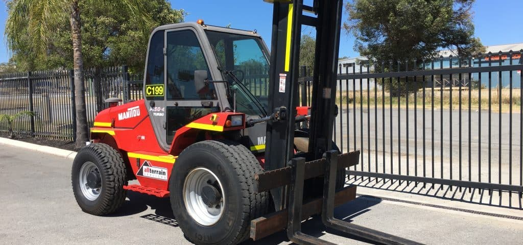All Terrain Forklift Hire