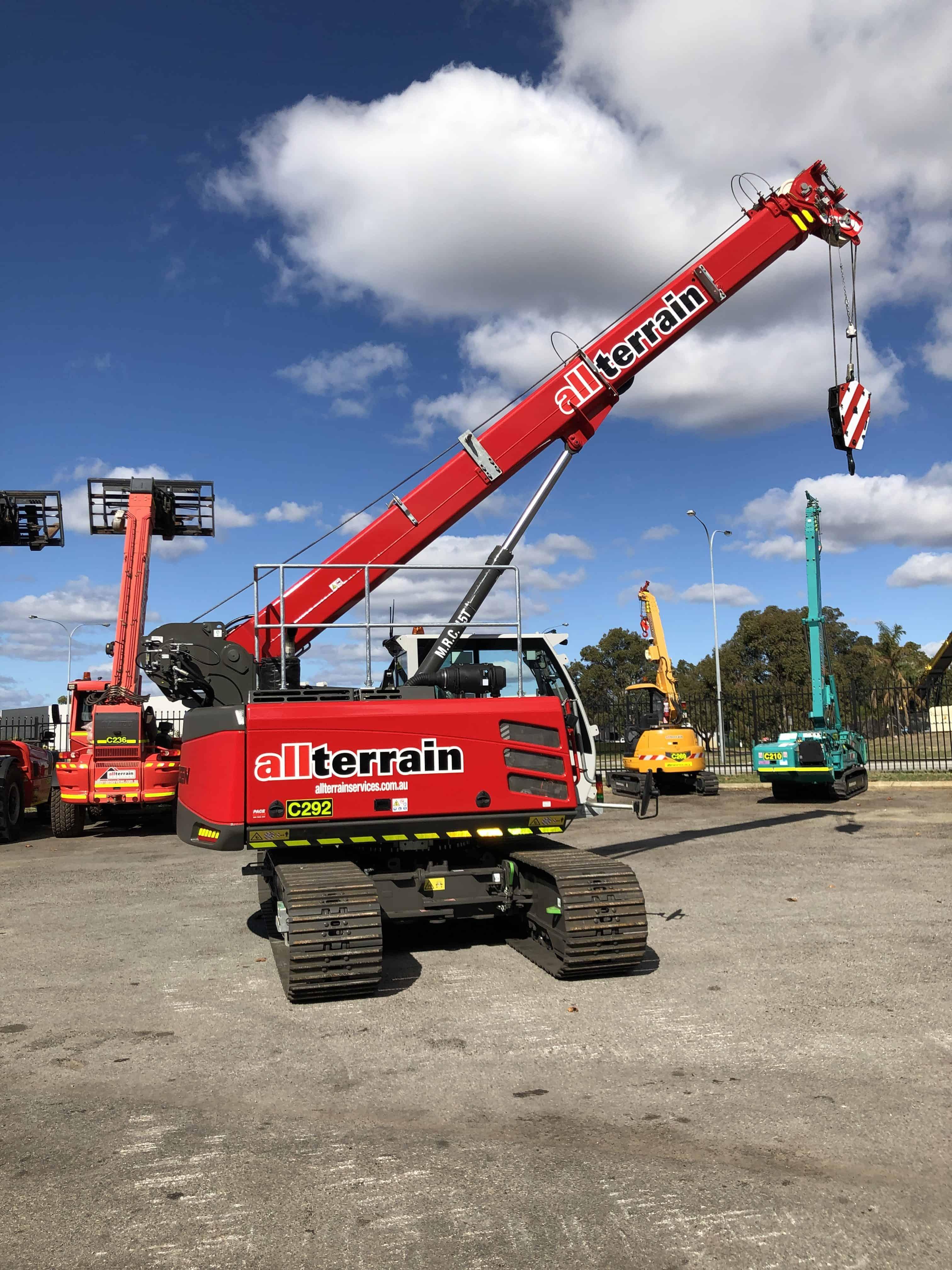Forklift Sennebogen