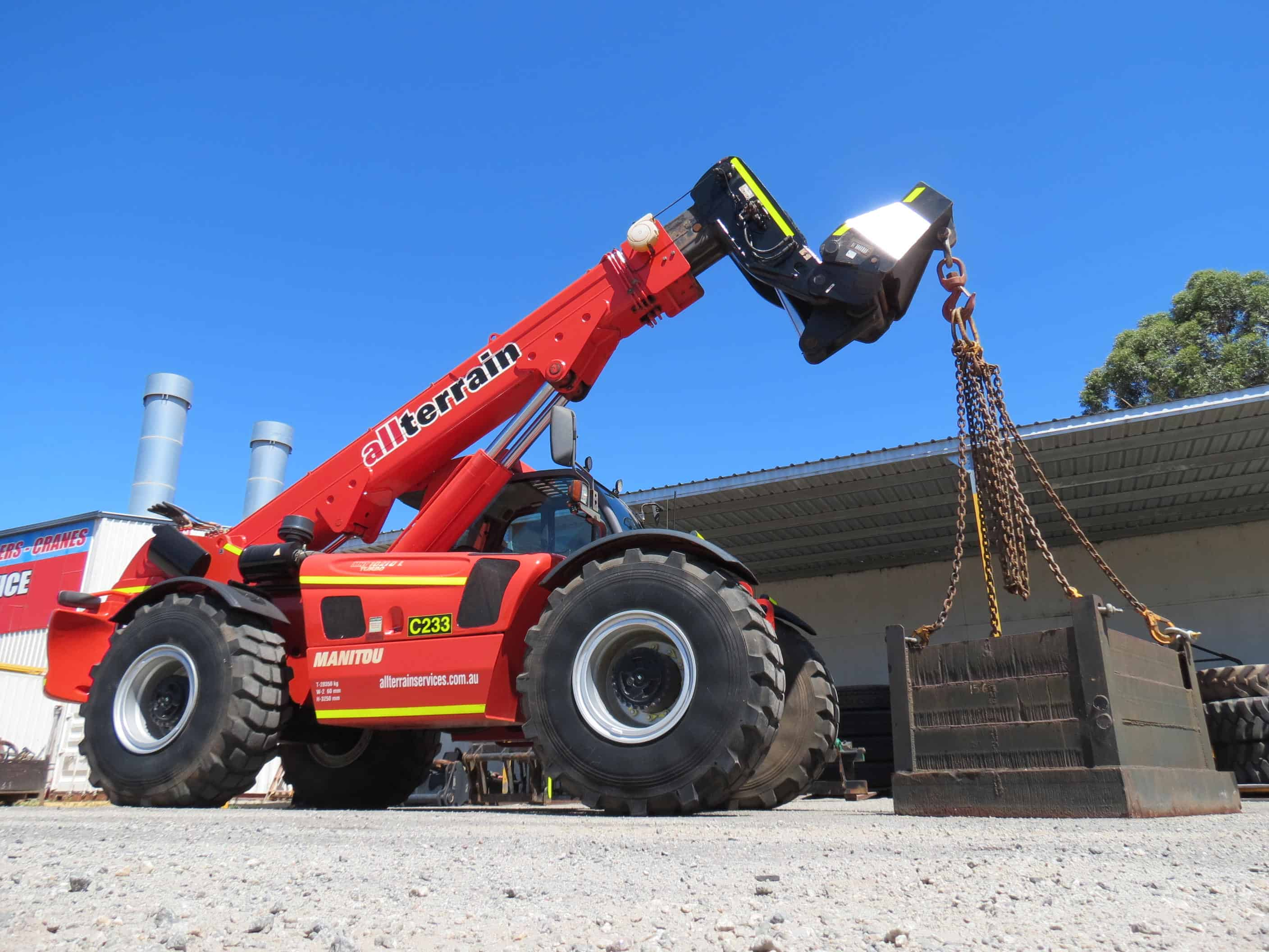All Terrain Services Manitou MHT10210L (C233) Cranes For Sale Perth