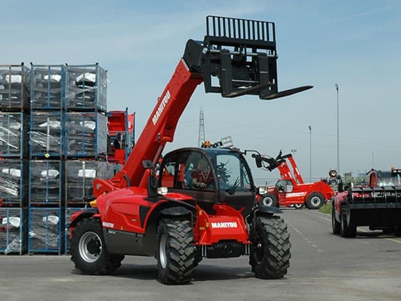 Manitou Telehandler All Terrain Services