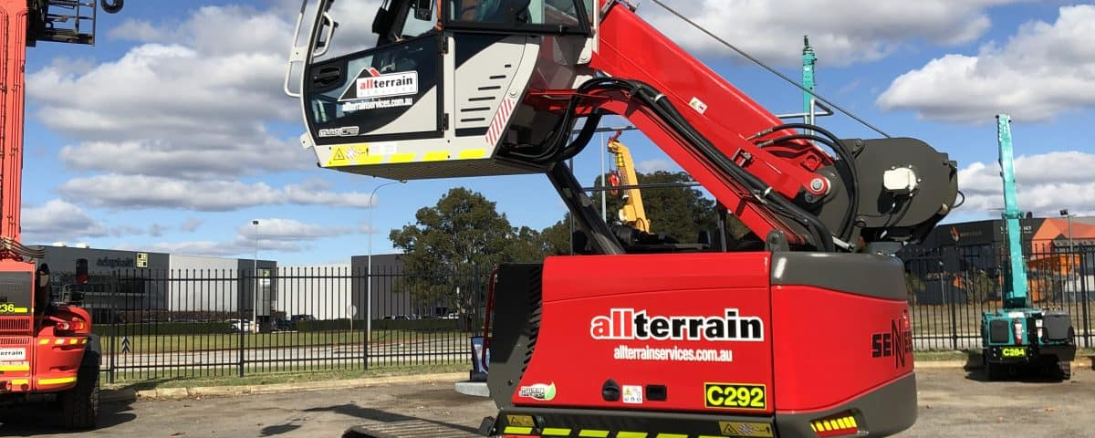 All Terrain Telescopic Handler