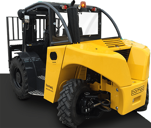 4WD Fork Lift Truck Yellow