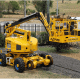 Road-rail articulated boom lift - RR 14 EVO for hire in Perth
