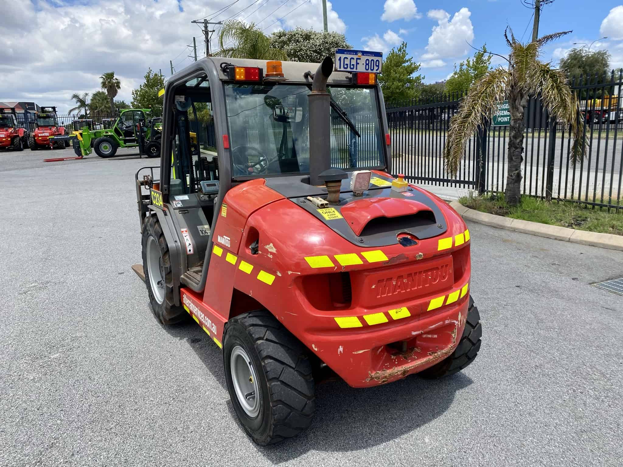 Manitou MH 25-4T Buggie rough terrain forklift for sale in Perth