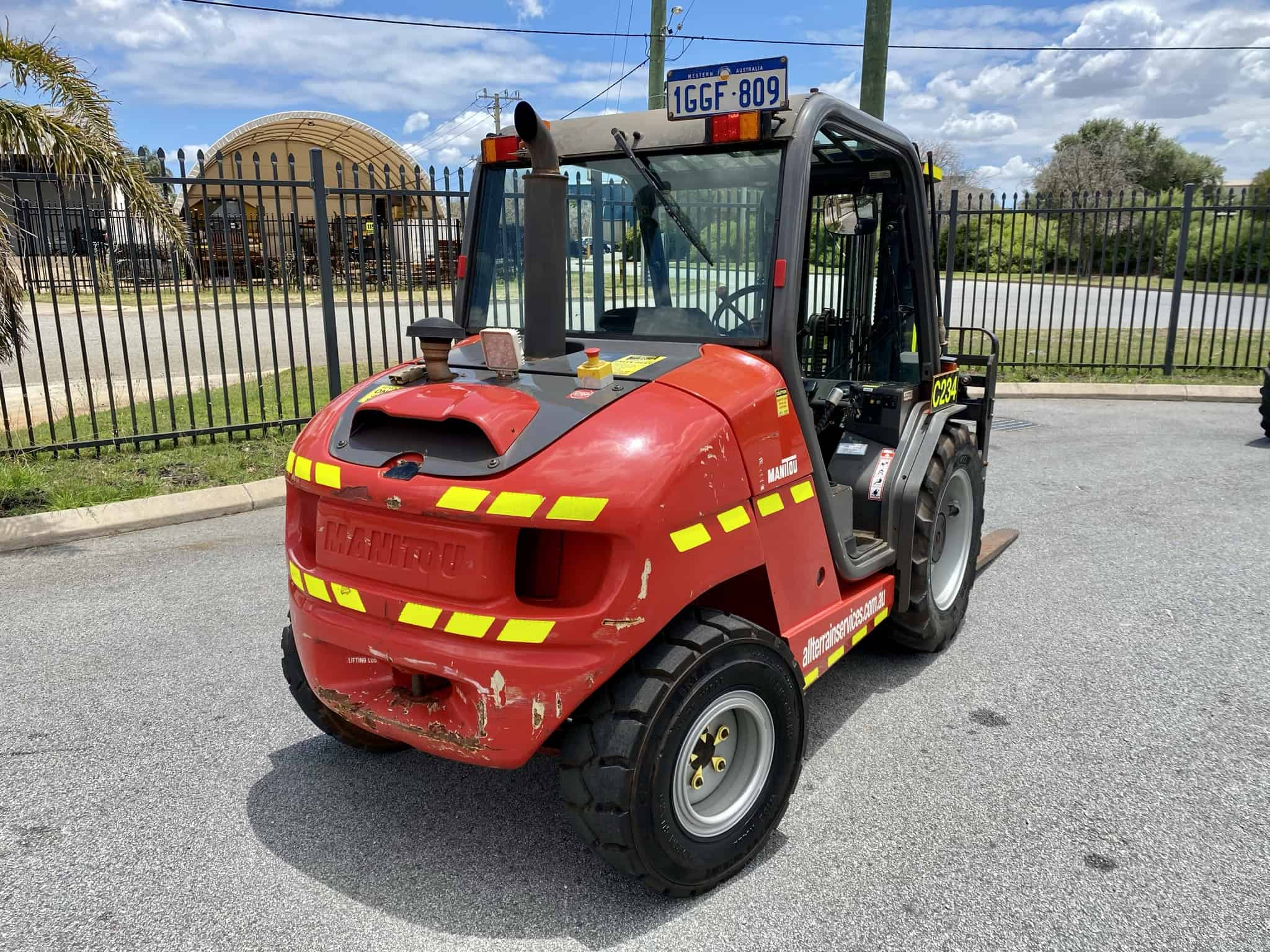 Manitou MH 25-4T Buggie used forklifts for sale