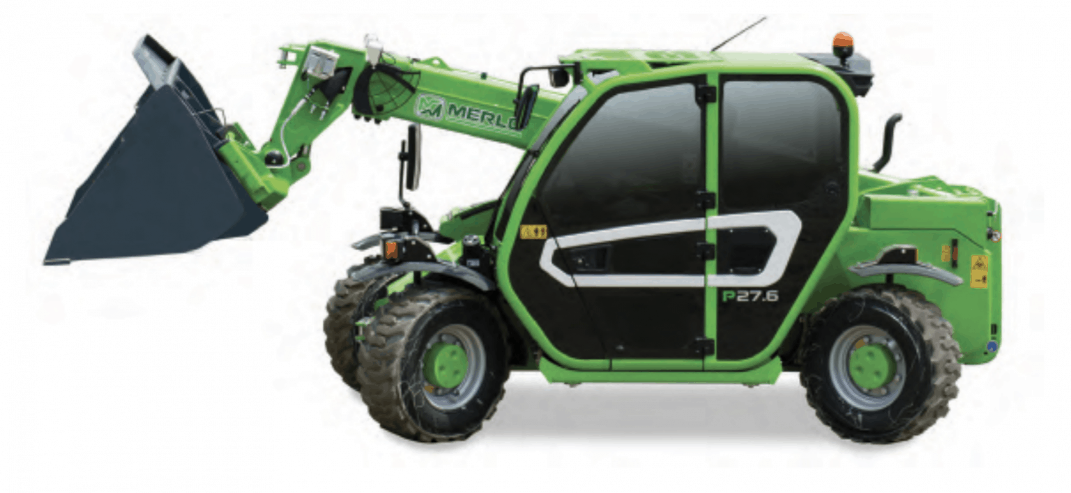 Merlo P27.6 Plus Compact Telehandler for hire in Perth