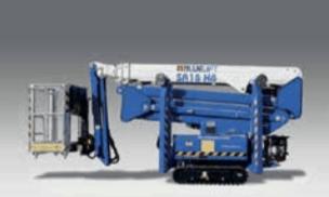 Ruthmann BLUELIFT SA 18 HB crane for sale in perth