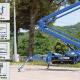 Blue Lift SA 26 spider platforms