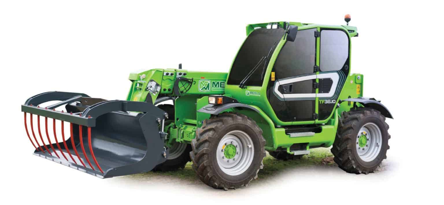 Merlo TF 38.10 telescopic handlers for hire in perth